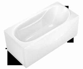 Акриловая ванна DOMANI-SPA CLASSIC 170x70 без гидромассажа