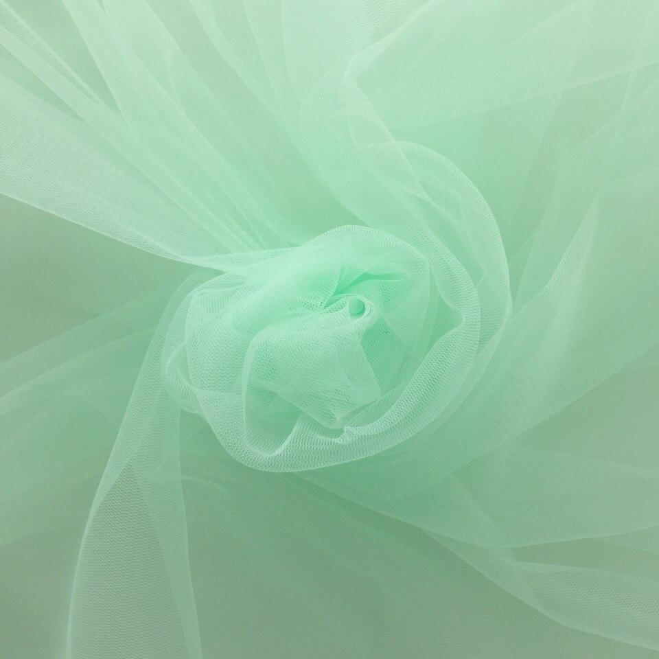 Мягкий фатин Пастель - светло - салатовый