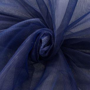Мягкий фатин Пастель- темно-синий