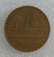 Монета Франция 10 франков Бронза 1980