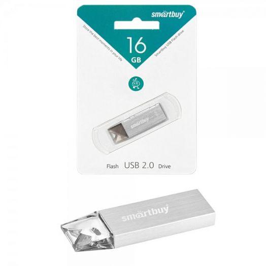 USB накопитель Smartbuy 16GB U10 Silver