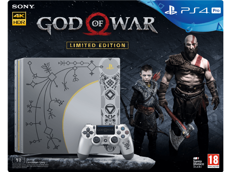 Sony PlayStation 4 Pro 1Tb + GOD OF WAR LIMITED EDITION