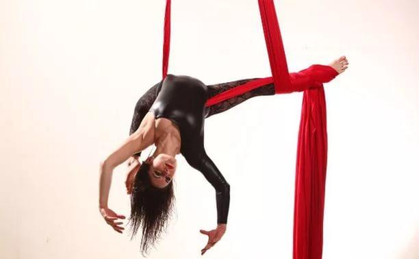 Полотно для гимнастики (Ткань сильный стрейч лайкра 80%)