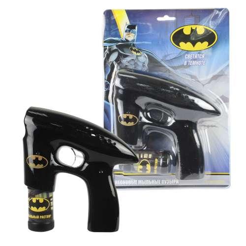 Пистолет с мыльными пузырями 1TOY  Batman, (свет, звук)
