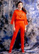 Красивый трикотажный женский костюм Лисица для яркой девушки!