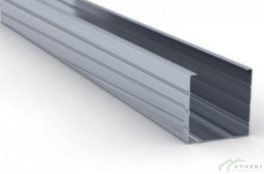 Профиль  для гипсокартона, CW 50х50х0.44, длина 3 м, (ПС профиль)