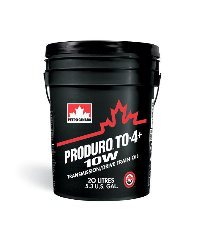 PC трансмиссионное масло для внедорожной техники PRODURO TO-4+ 10W (20 л)