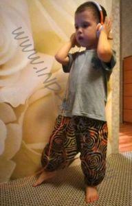 Детские хлопковые штаны алладины со спиралями (в Екатеринбурге)