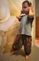 Удобные детские штаны для мальчиков и девочек, интернет магазин, Екатеринбург. Купить детские штанишки алладины с мотней из хлопка в Москве