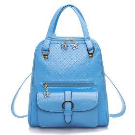 Рюкзак голубой женский городской Одди