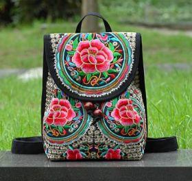 Рюкзак в этническом стиле женский Микасо