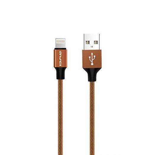 Кабель USB 2А AWEI CL-60 (iPhone5/6/7) 1м