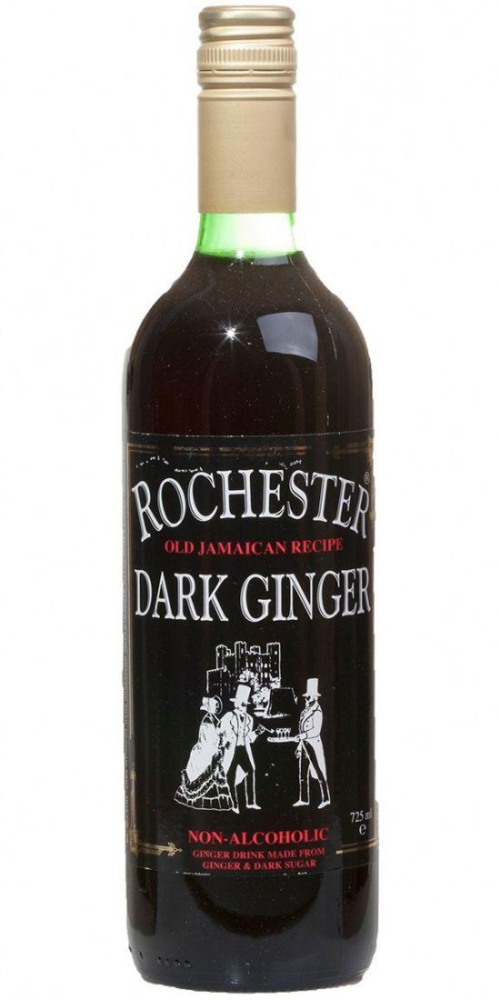 Rochester Ginger Темный Безалкогольный Имбирный напиток - 245 мл