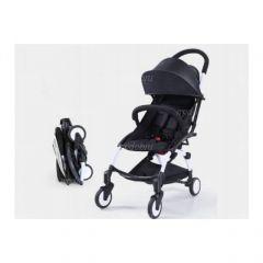 """Детская прогулочная коляска трансформер Yoya Babytime Чёрная """"Йойа беби тайм"""" купить в интернет магазине"""