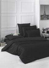 Постельное белье Сатин LOFT евро (черный) Арт.2986-4