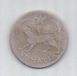 50 чентезимо 1950 г. Сомали