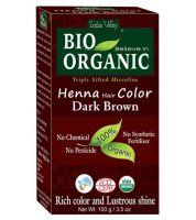 Натуральная краска для волос темно-коричневый Индус Веллей | Indus Valley Dark Brown Henna Hair Color