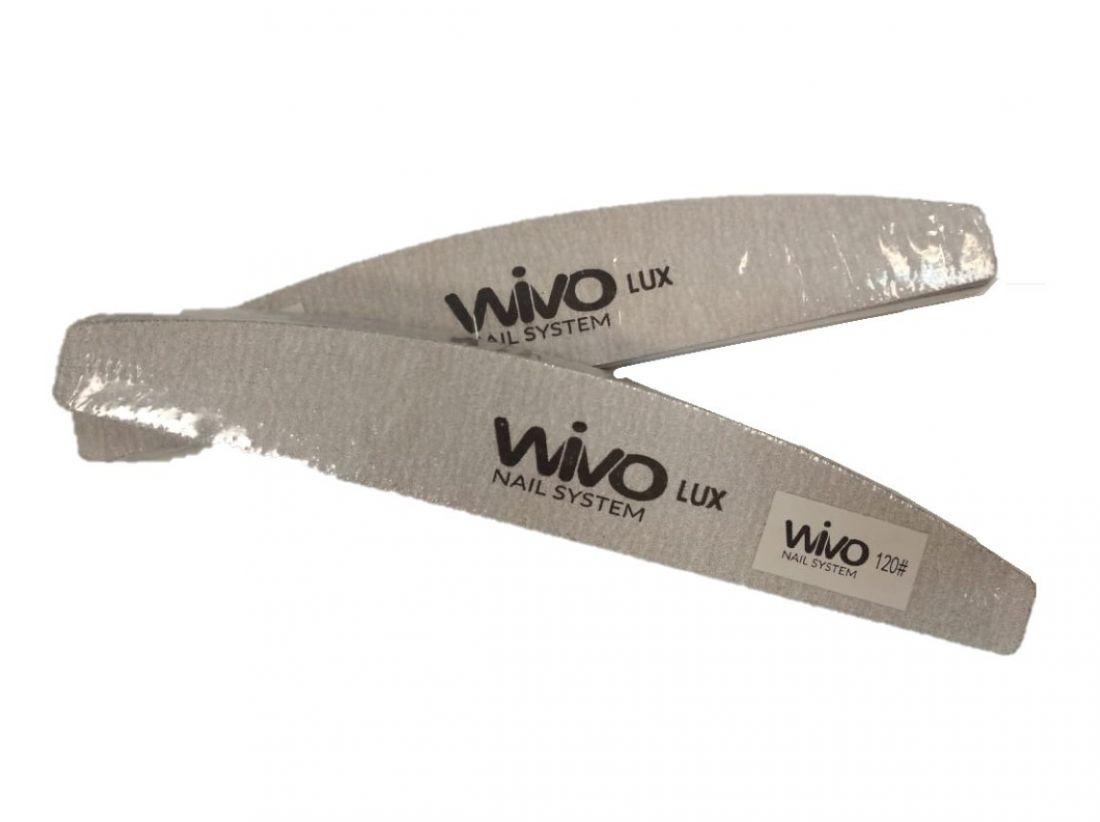Сменные файлы-пилки WIVO на липкой основе ЛУНА 120 грит  (Зебра, Япония , 180х28мм., 25 шт.)м