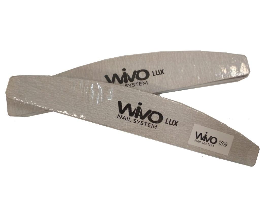 Сменные файлы-пилки WIVO на липкой основе ЛУНА 150 грит  (Зебра, Япония , 180х28мм., 25 шт.)
