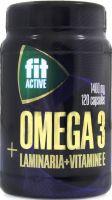 """БАД к пище """"Омега 3 35% с экстрактом ламинарии и витамином Е""""  №120"""