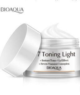 Мультифункциональный дневной крем «BIOAQUA» V7 Toning Light.(8219)