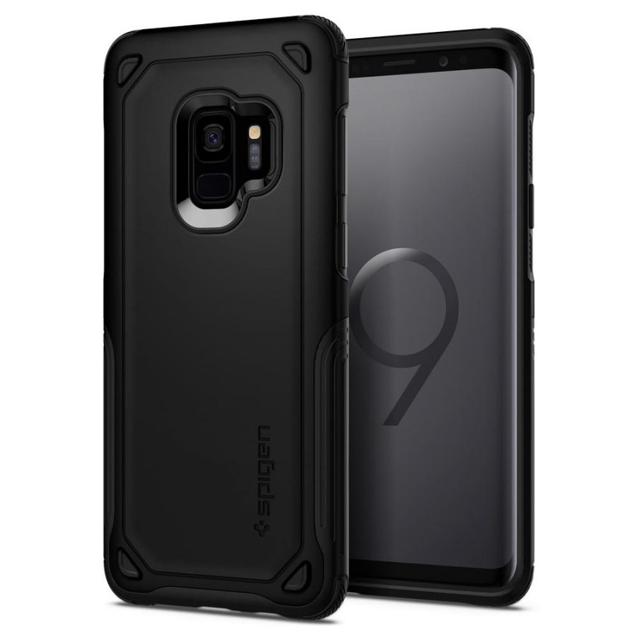 Чехол Spigen Hybrid Armor для Samsung S9 черный