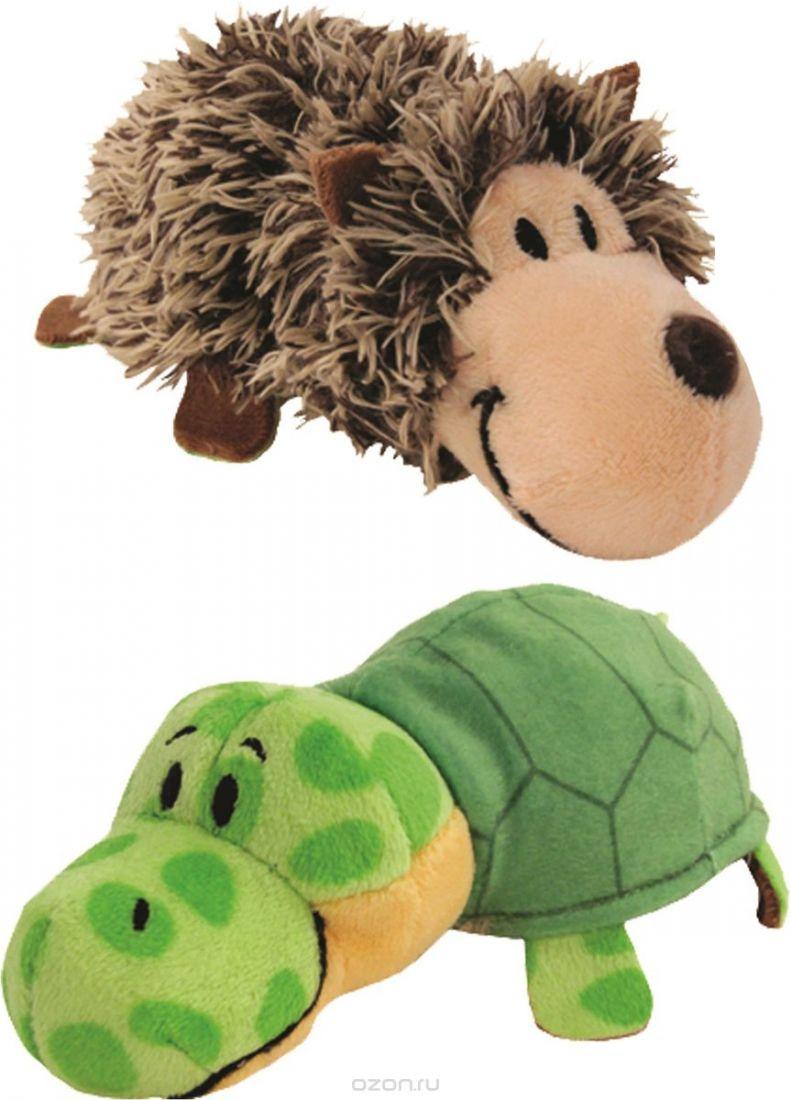 """Мягкая игрушка """"Вывернушка"""" 2 в 1 1 TOY  Ёжик - Черепаха, 12 см"""