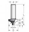 Фреза врезная радиусная удлиненная W.P.W. хвостовик 12 мм RH06002