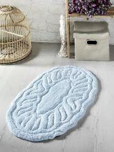Коврик для ванной WENGE 50*80 (голубой)  Арт.5106-5