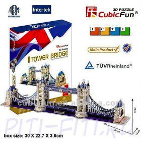 CubicFun. 3D пазлы. Мосты и ворота. Таэурский мост-2