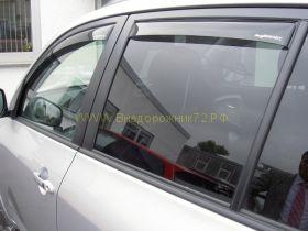 Дефлекторы окон (ветровики) вставные для Toyota Land Cruiser 200 / Lexus LX  (ClimAir Германия)