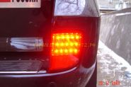 Задние противотуманные фары диодные (Красные) для Toyota Land Cruiser 200