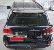 Хромированная накладка на задний спойлер для Toyota Land Cruiser 200