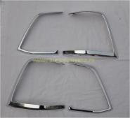 Хромированные накладки на заднию оптику (Тип 2) для Toyota Land Cruiser 200 2012