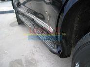 Аэродинамические пороги (Тип 2) для Toyota Land Cruiser 200