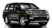 Защита переднего бампера двойная 76 мм (FBU3NJ2076P12) для Toyota Land Cruiser 200 2008 -