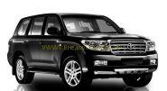Защита переднего бампера с защитой картера 76 мм (FBU4NJ2076P12) для Toyota Land Cruiser 200 2008 -