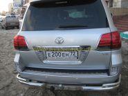 Задняя  альтернативная оптика диодная (Тип Lexus затемненная) для Toyota Land Cruiser 200