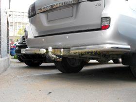 Фаркоп (ТСУ) с торцевой пластиной из нержавеющей стали Y-20aNS для Toyota Land Cruiser 200