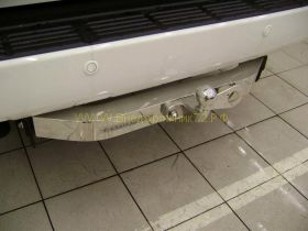 Фаркоп (ТСУ) с торцевой пластиной из нержавеющей стали Y-20aNM для Toyota Land Cruiser 200