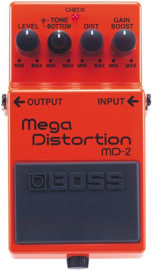 BOSS MD-2 Педаль гитарная MegaDistortion
