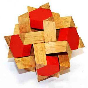 Головоломка деревянная К4