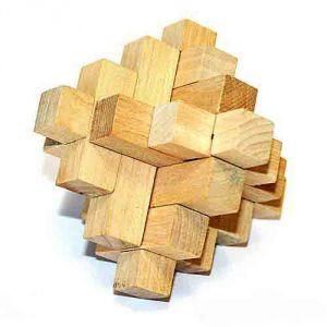 Головоломка деревянная  К52