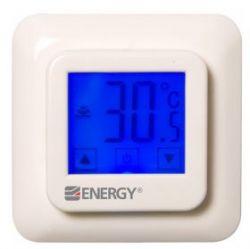 Программируемый терморегулятор Energy TK08 с сенсорным дисплеем
