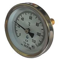 Термометр биметаллический (от 0 до +120С)