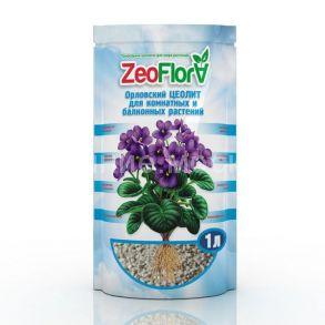 Почвоулучшитель «Цеофлора» для комнатных и балконных растений 1 литр «ФИАЛКА»