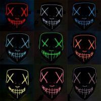 Неоновая маска Судная ночь (2)