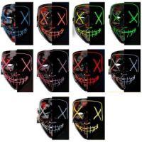 Неоновая маска Судная ночь (1)