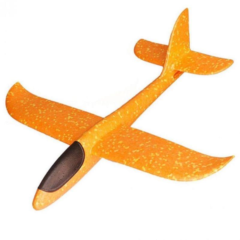 Метательный планер, 48 см, цвет оранжевый