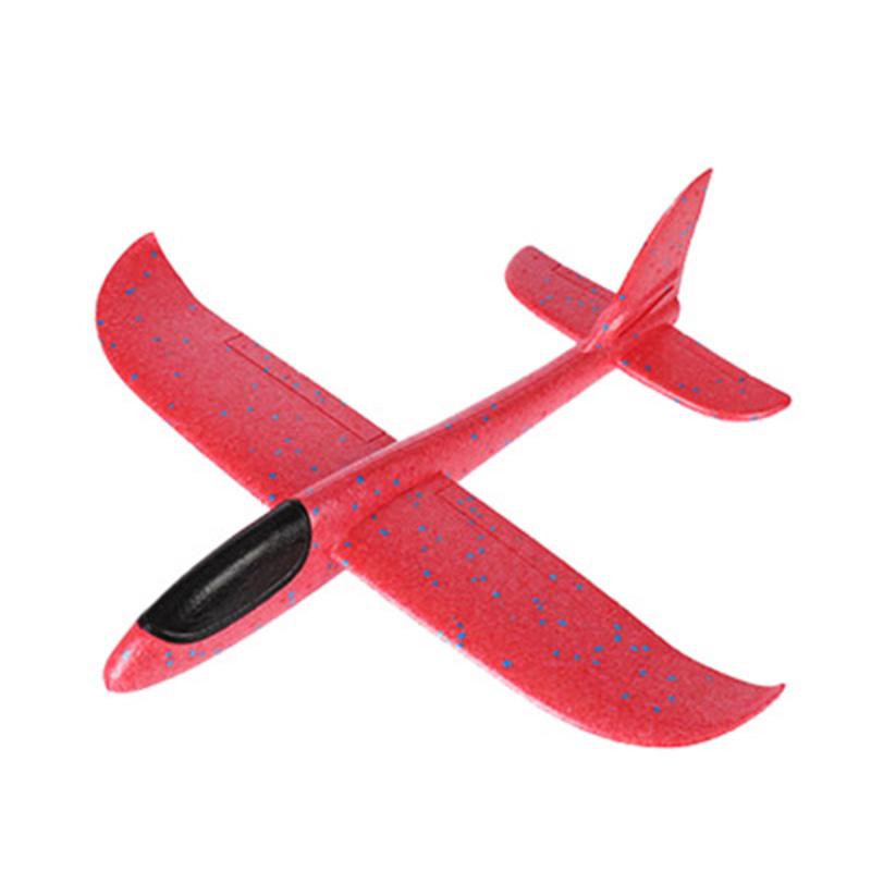 Метательный планер, 48 см, цвет красный